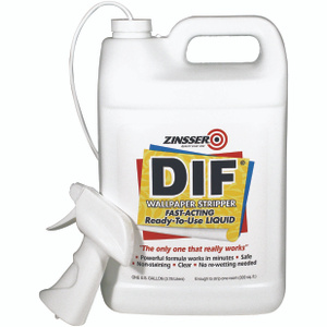 Zinsser 02481 DIF Fast Acting Ready To Use Wallpaper Stripper Gallon