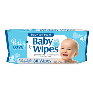 PCP 90822-2 Baby Wipes 80 Count