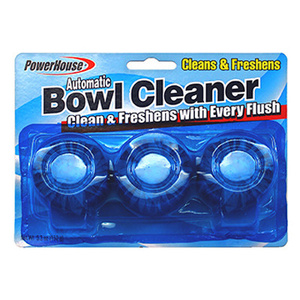 PCP 92544-1 Fresh Bowl Automatic Toilet Bowl Tabs Pack Of 3
