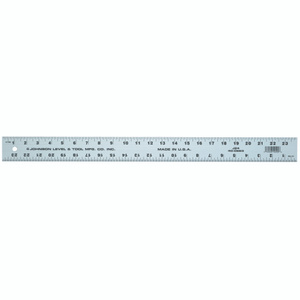 Johnson Level J72 72 By 2 Inch Straight Aluminum Edge Ruler