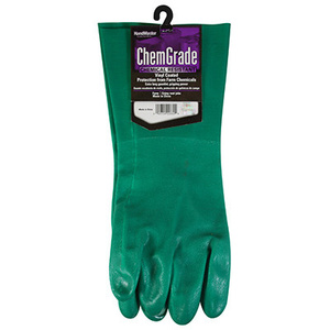 Magid Glove T5084RT 14 Inch PVC Ammonia Chemical Gloves Large