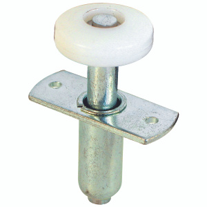 Prime Line N 6611 Wardrobe Door Guide Roller Top Mount Spring Loaded