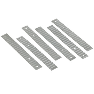 Amerimax 85131 7/8 By 7 Inch 28 Gauge Galvanized Wall Ties
