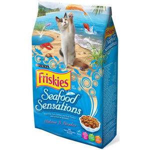 Friskies 57577 Seafood Sensations Cat Food 16 Pounds