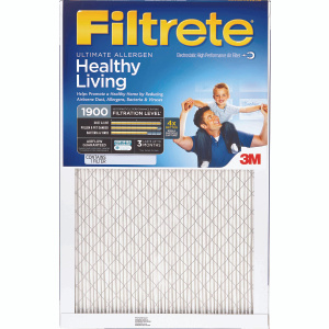 3M UA04DC-6 Filtrete Ultimate Allergen Healthy Living 14 Inch By 25 Inch By 1 Inch