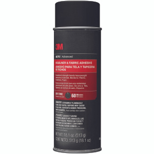 3M 38808 Headliner And Fabric Adhesive 18.1 Ounces