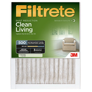 3M 505DC-6 Filtrete Clean Living Dust Reduction Filters 14 Inch By 20 Inch By 1 Inch