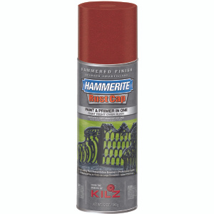 Masterchem 41180 Hammerite Rust Cap Red Hammered Spray Encapsulates Rust