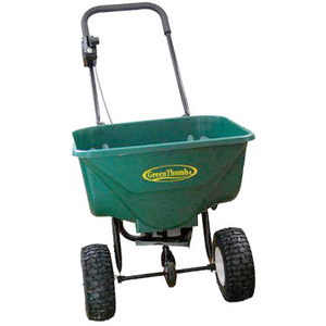 EarthWay 2030P PLUSGT Green Thumb Set Up Dlx Spreader