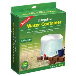 Coghlans 1205 5 Gallon Water Carrier