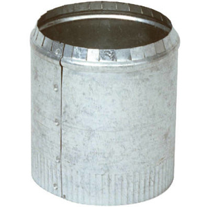 Imperial Manufacturing GV0839 4 Inch Round Galvanized Top Collar