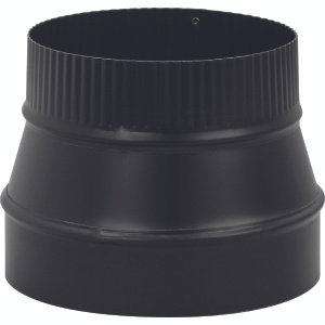 Imperial Manufacturing BM0077 7 Inch By 6 Inch Black 24 Gauge Reducer