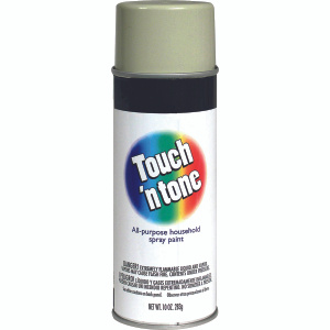 Rust Oleum 55281830 Touch n Tone Antique White Gloss All Purpose Spray Paint