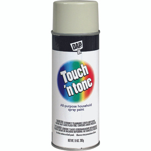 Rust Oleum 55285830 Touch n Tone Almond Gloss All Purpose Spray Paint