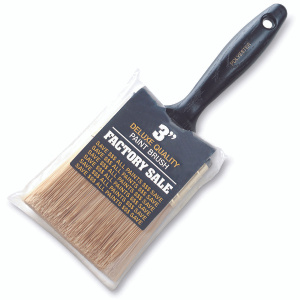 Wooster P3973-3 Factory Sale Gold Polyester Wall Brush 3 Inch