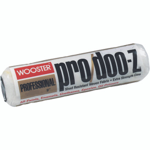 Wooster RR641-9 Pro Doo Z 9 Inch 3/16 Inch Pile Pro Lint Free Roller Cover