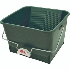 Wooster 8616 4 Gallon Green Polypropylene Paint Roller Bucket
