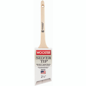 Wooster 5224-2-1/2 Silver Tip Soft Polyester Thin Angle Sash Brush 2-1/2 Inch