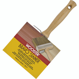 Wooster F5119-5-1/2 Bravo Stainer Bristle Polyester Blend Stainer Brush 5-1/2 Inch