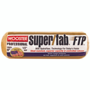 Wooster RR924-9 Super Fab 9 Inch 1/2 Inch Nap High Capacity Roller Cover