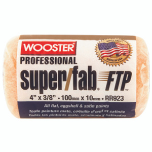 Wooster RR923-4 Super Fab 4 Inch 3/8 Inch Nap High Capacity Roller Cover