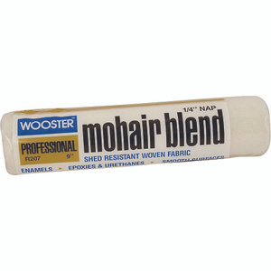 Wooster R207-9 Mohair Blend 9 Inch 1/4 Inch Pile Mohair Roller Cover