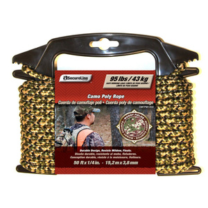 Wellington Cordage CMFPM1450 1/4 Inch By 50 Foot Camouflage Poly Rope