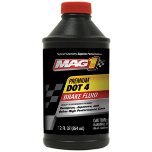 Mag 1 MGBF0126 12 Ounce Dot 4 Brake Fluid