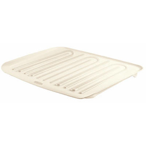 Rubbermaid Home 1182-AR-BISQU Large Bisque Drainer Tray