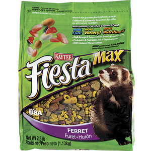 Kaytee 100032288 2.5 Pound Ferret Food