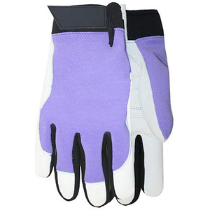 Midwest Quality Gloves 146F6 Max Performance Goatskin Palm Assorted Colors Gloves Ladies