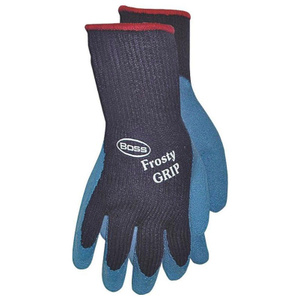 Boss 8439X Frosty Grip Insulated Rubber Dipped Knit Gloves Extra-Large