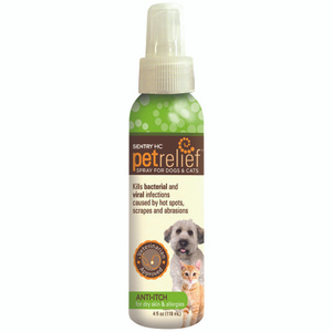 Sergeants 31101 Sentry Anti Itch Spray For Dogs 8.4 Ounce