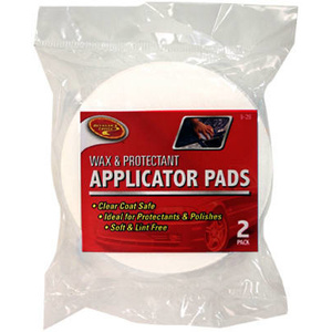 Tiger Accessory Group 9-288 Padded Wax Applicator Pad Twin Pack