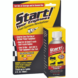 Gold Eagle 21205 Start Your Engines Fuel System Revitalizer 4 Ounce