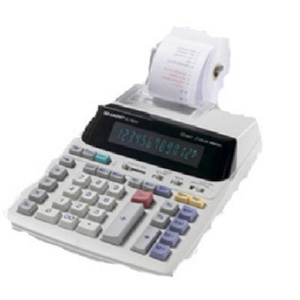 Sharp EL1801V Large 12 Digit Calculator