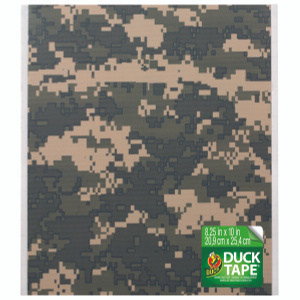 Shurtech 282699 Duct Tape Sheets 8.25 Inch By 10 Inch - Camo Print