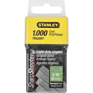 Stanley Tools TRA205T Staple 5/16 Inch Light Duty Box1000
