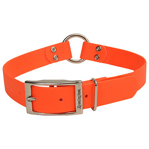 Coastal Pet R4905 G ORG22 Remington Remington Waterproof Safety Dog Collar With Center Ring 1 By 22 Inch Safety Orange Color