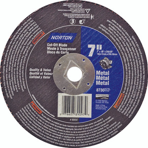 Norton 07660789097 7 By 1/8 By 5/8 Metal Aluminum Oxide Type 1