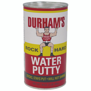 Durham 168 Rock Hard Lb Water Putty
