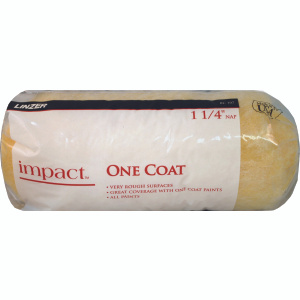 Linzer RC107 Impact 9 Inch 1-1/4 Inch Pile One Coat Extra Rough Surface Paint Roller Cover