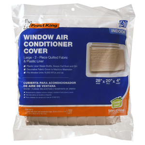 Thermwell AC11H Frost King Air Conditioner Cover Indoor 20 By 28 Inch Quilted
