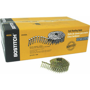 Stanley Bostitch CR5DGAL 7200PK 1- 3/4 Inch Coil Nail