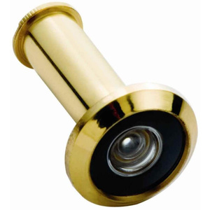 Belwith 2320 Wide Angle 190 Degree Door Viewer Polished Brass