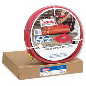 HBD Thermoid 43825 3/8 Inch By 25 Ft Red Air Hose