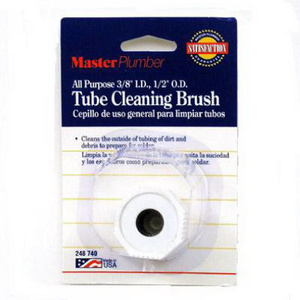 William Harvey 092412 Master Plumber 3/8 By 1/2 Cop Tube Brush