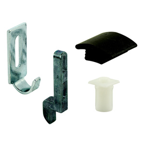 Prime Line 124182 / A 236 4 Piece Sliding Screen Door Strike Guide And Adjustment Kit