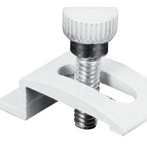 Prime Line 183618 White Storm Door Panel Clip And Thumb Screws Pack Of 4