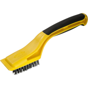 Hyde 46800 Heavy Duty Stainless Steel Wide Stripping Brush
